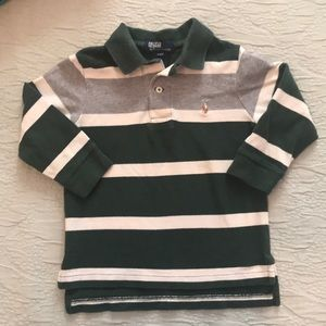 Ralph Lauren long sleeve polo 2T